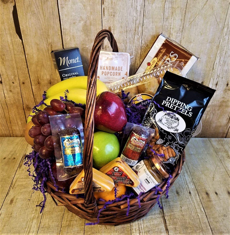Fruit, Gourmet & Sausage Basket